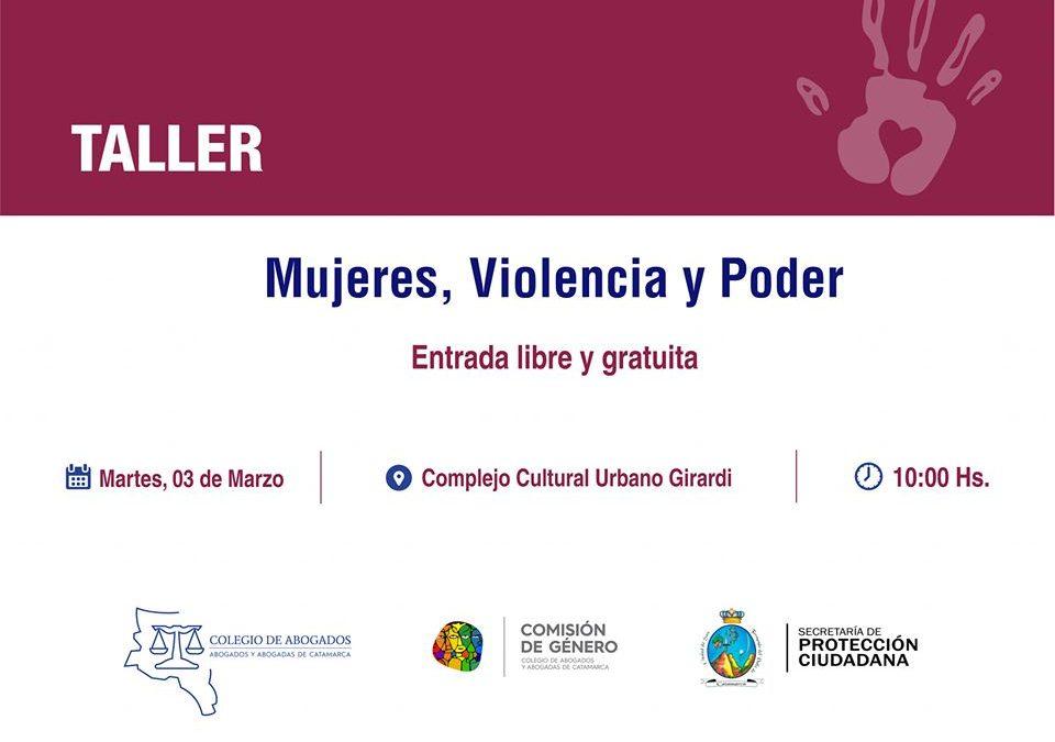 MUJERES, VIOLENCIA Y PODER