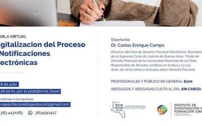 «Digitalizacion del Proceso y Notificaciones Electrónicas»