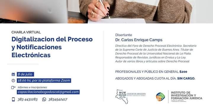 """""""Digitalizacion del Proceso y Notificaciones Electrónicas"""""""
