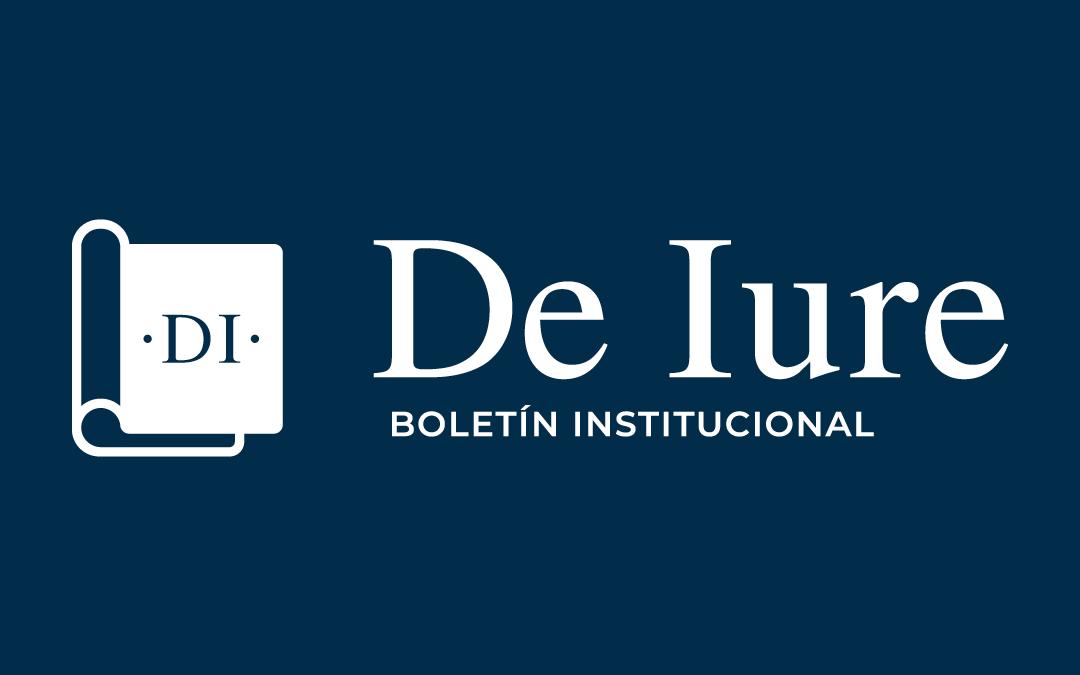 """Boletín """"DE IURE"""" -Noviembre-"""