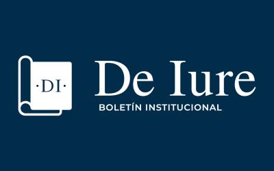 """BOLETÍN """"DE IURE"""""""